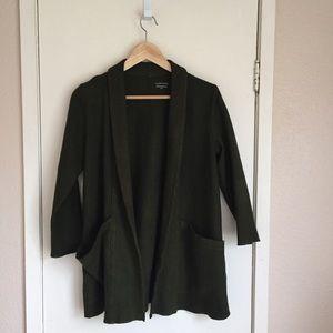 Eileen Fischer Boiled Wool Jacket